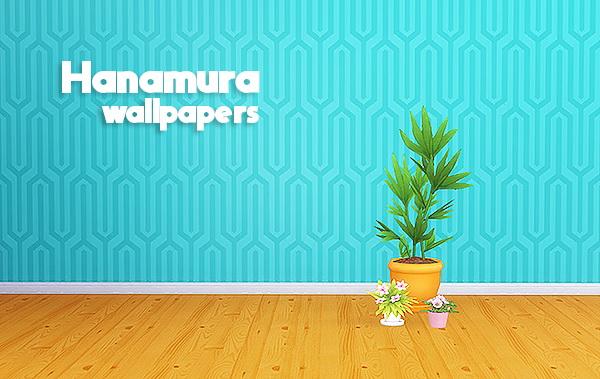 Hanamura wallpapers at Lina Cherie image 3741 Sims 4 Updates