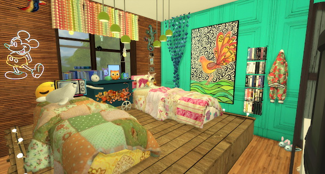 Ian bedroom by Rissy Rawr at Pandasht Productions image 375 Sims 4 Updates