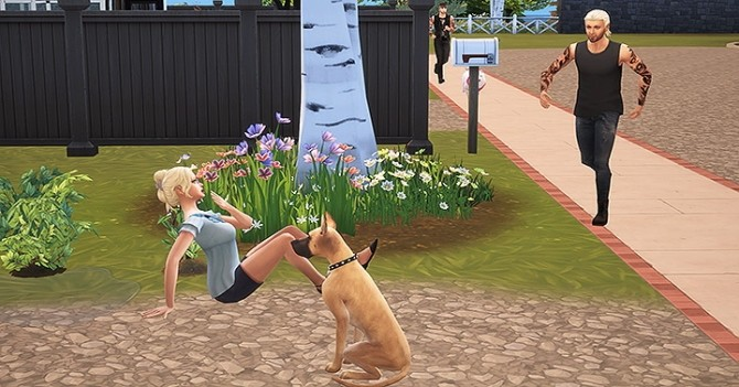 Sims 4 Story pose by Dyo at Sims 4 Fr