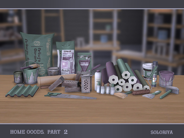 Home Goods part 2 by soloriya at TSR image 3815 Sims 4 Updates