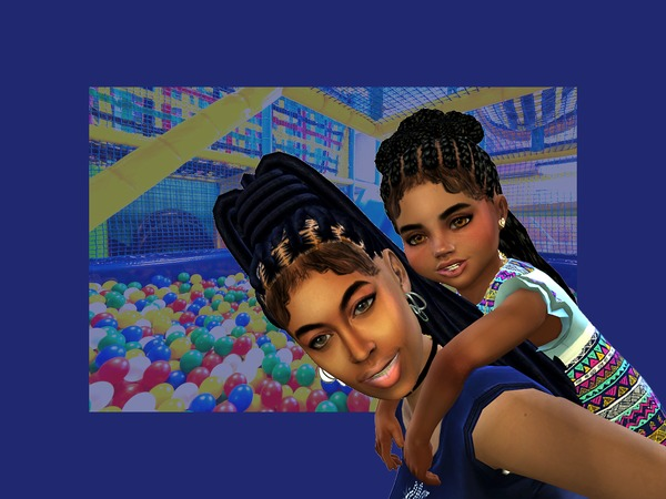 Toddler Braided Buns by drteekaycee at TSR image 382 Sims 4 Updates