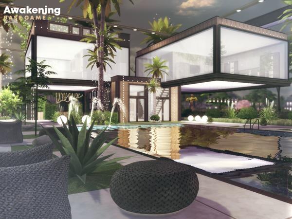 Sims 4 Awakening house by Pralinesims at TSR
