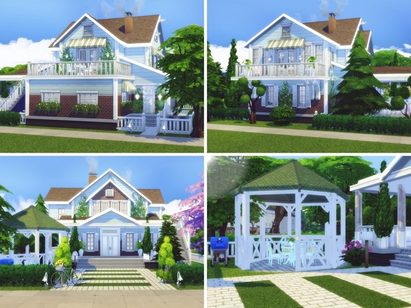 Dreamsville house by MychQQQ at TSR image 396 Sims 4 Updates