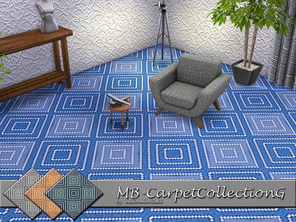 MB Carpet Collection G by matomibotaki at TSR image 4117 Sims 4 Updates