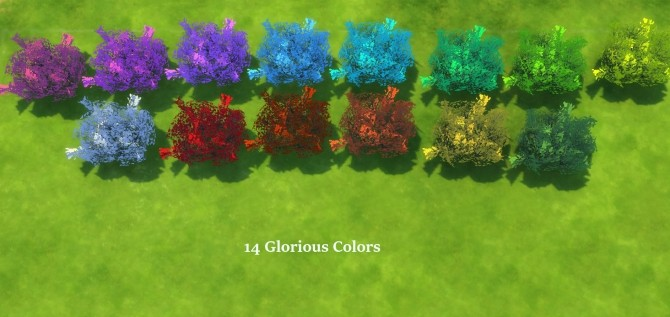Brilliance Gardens II: Bushes by Snowhaze at Mod The Sims image 4212 670x317 Sims 4 Updates