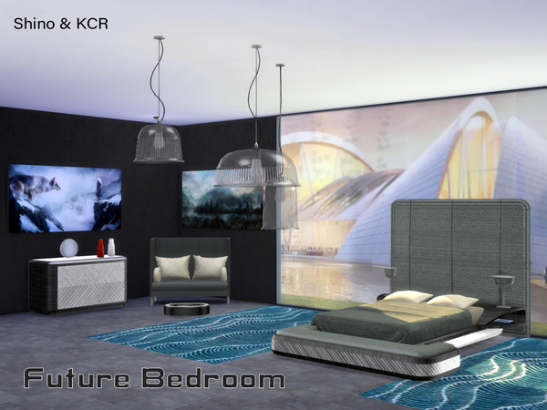 Bedroom Future by ShinoKCR at TSR image 424 Sims 4 Updates
