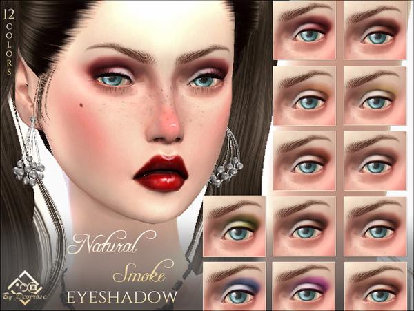 Natural Smoke Eyeshadow by Devirose at TSR image 427 Sims 4 Updates