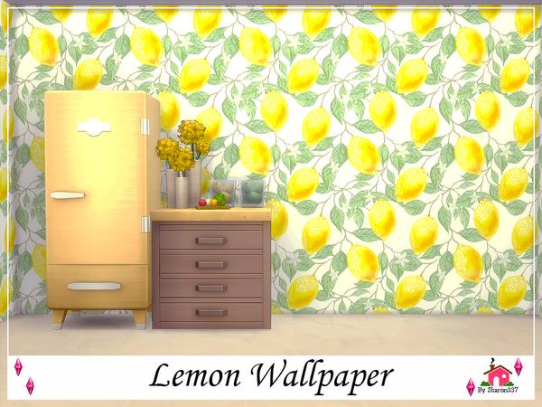 Sims 4 Lemon Wallpaper by sharon337 at TSR
