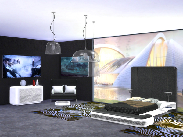 Bedroom Future by ShinoKCR at TSR image 434 Sims 4 Updates