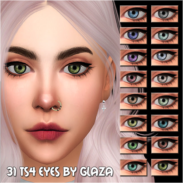 Sims 4 Eyes 31 at All by Glaza
