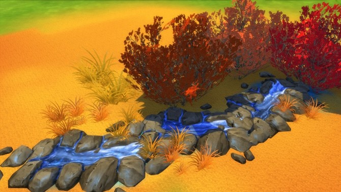 Brilliance Gardens III: Colorful Grasses by Snowhaze at Mod The Sims image 4510 670x377 Sims 4 Updates
