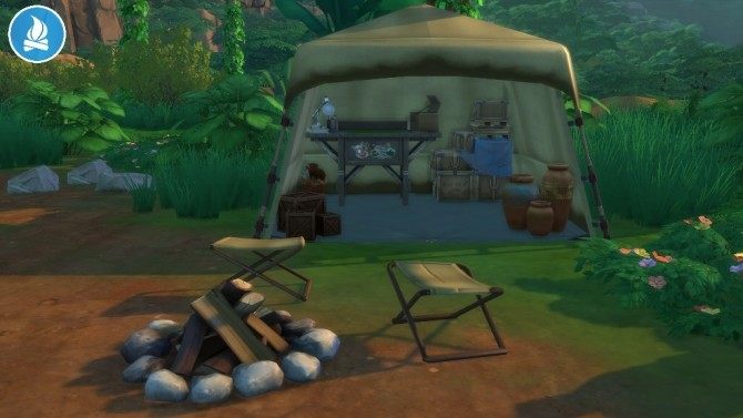 Jungle Rustic Arbor Tent by Séri at Mod The Sims image 455 670x377 Sims 4 Updates