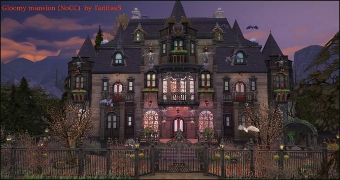 Gloomy mansion at Tanitas8 Sims image 457 670x356 Sims 4 Updates