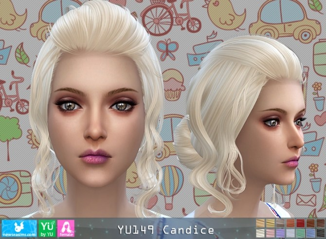 YU149 Candice hair (P) at Newsea Sims 4 image 4617 670x491 Sims 4 Updates
