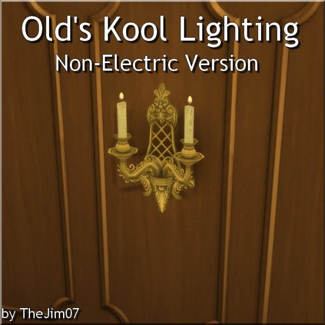 Olds Kool Lighting Non Electric Version by TheJim07 at Mod The Sims image 465 670x670 Sims 4 Updates