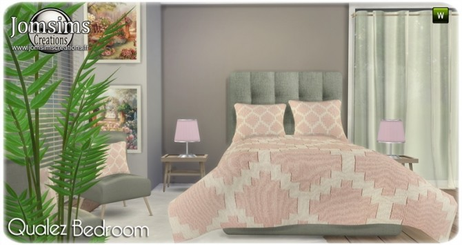Qualez bedroom at Jomsims Creations image 4816 670x355 Sims 4 Updates