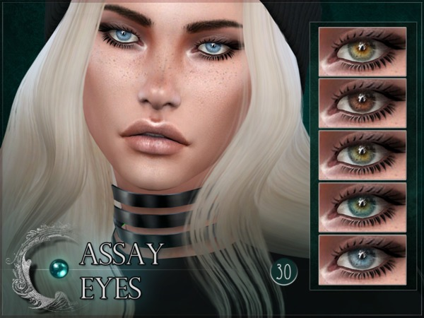 Assay Eyes by RemusSirion at TSR image 483 Sims 4 Updates
