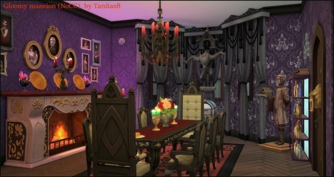 Sims 4 Gloomy mansion at Tanitas8 Sims