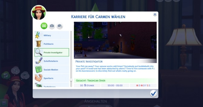 Private Investigator Career by Marduc Plays at Mod The Sims image 4910 670x355 Sims 4 Updates