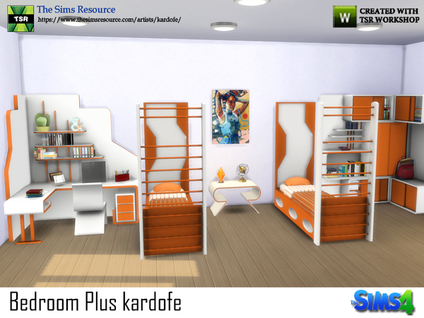 Bedroom Plus by kardofe at TSR image 504 Sims 4 Updates