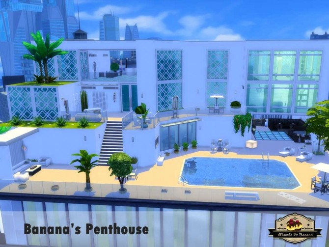 Bananas Penthouse (No CC) by mamba black at Mod The Sims image 5114 670x503 Sims 4 Updates