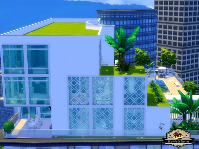 Bananas Penthouse (No CC) by mamba black at Mod The Sims image 5212 670x503 Sims 4 Updates