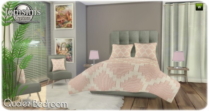 Qualez bedroom at Jomsims Creations image 5218 670x355 Sims 4 Updates
