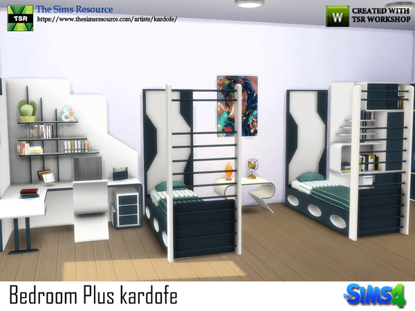 Bedroom Plus by kardofe at TSR image 524 Sims 4 Updates