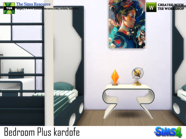 Bedroom Plus by kardofe at TSR image 534 Sims 4 Updates