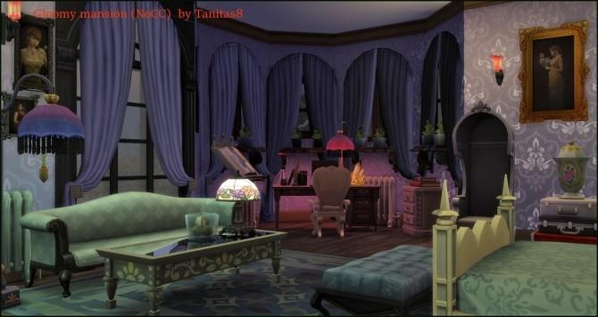 Gloomy mansion at Tanitas8 Sims image 537 670x356 Sims 4 Updates