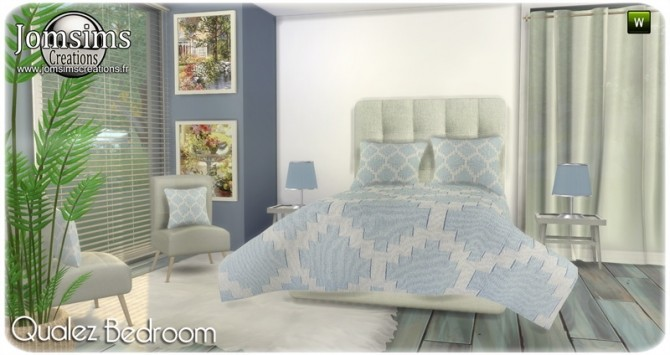 Qualez bedroom at Jomsims Creations image 5417 670x355 Sims 4 Updates