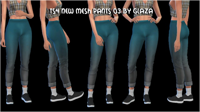 Sims 4 Pants 03 at All by Glaza