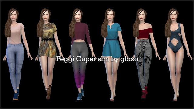 Peggi Cuper at All by Glaza image 5516 Sims 4 Updates