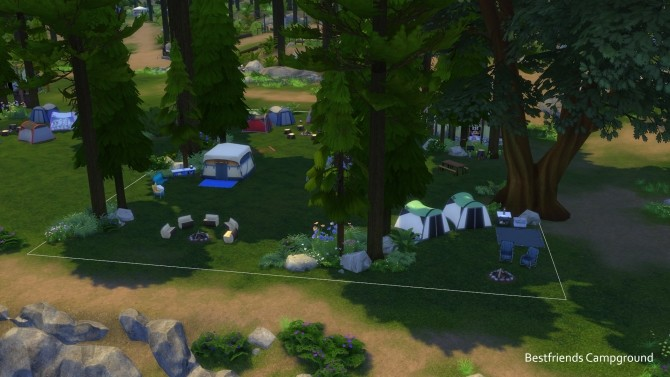 C C C C Campgrounds by TigerWaber at Mod The Sims image 555 670x377 Sims 4 Updates