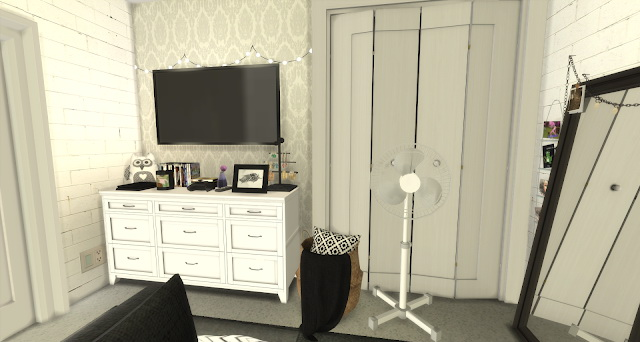 Sims 4 Christina bedroom at Pandasht Productions