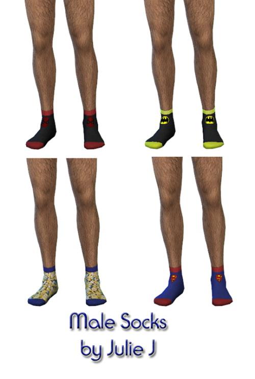 Male Socks at Julietoon – Julie J image 5617 Sims 4 Updates