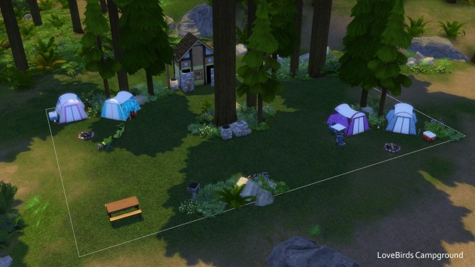 C C C C Campgrounds by TigerWaber at Mod The Sims image 565 670x377 Sims 4 Updates