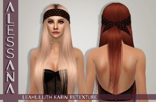 LeahLillith Karin Hair Retexture at Alessana Sims image 567 Sims 4 Updates