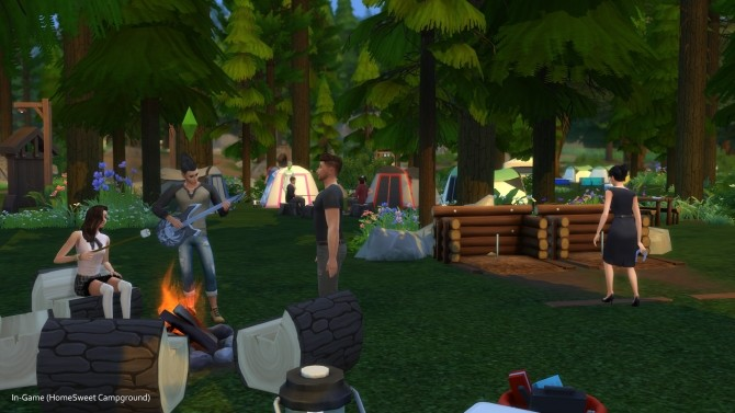 C C C C Campgrounds by TigerWaber at Mod The Sims image 575 670x377 Sims 4 Updates