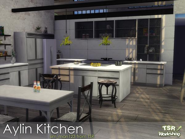 Aylin Kitchen by sim man123 at TSR image 58 Sims 4 Updates
