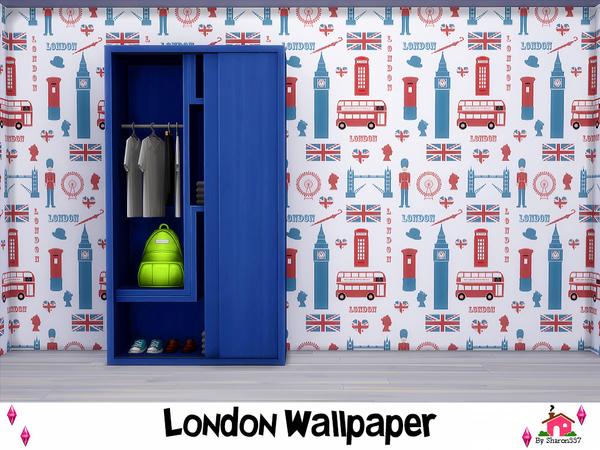 London Wallpaper by sharon337 at TSR image 590 Sims 4 Updates
