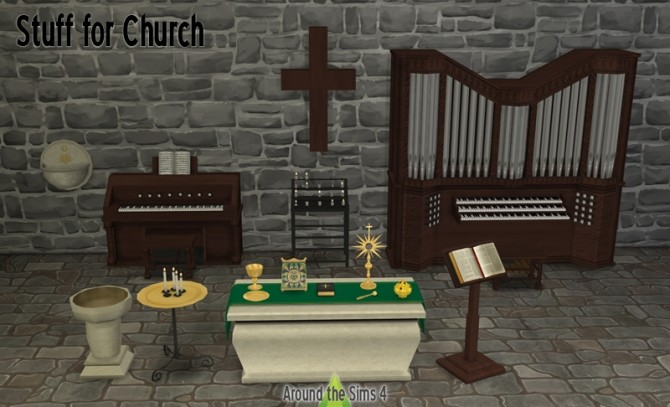 Stuff for Church by Sandy at Around the Sims 4 image 5911 670x407 Sims 4 Updates
