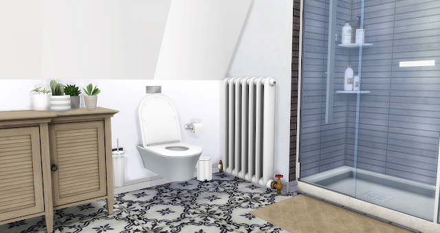 Apartment Bathroom at Liney Sims image 599 Sims 4 Updates