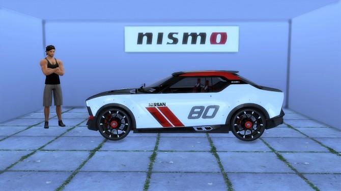 Sims 4 Nissan IDx Nismo at LorySims