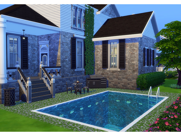 Sims 4 Winsome family home by Degera at TSR