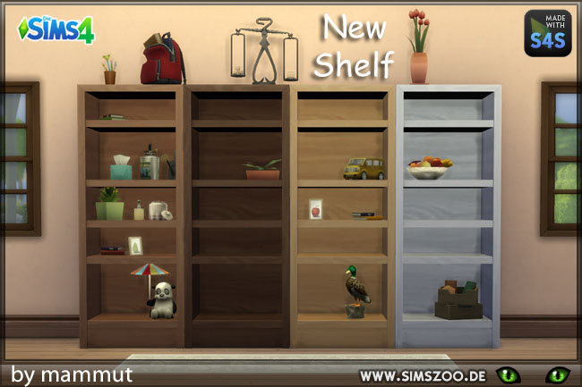 New shelf by mammut at Blacky's Sims Zoo image 6120 Sims 4 Updates