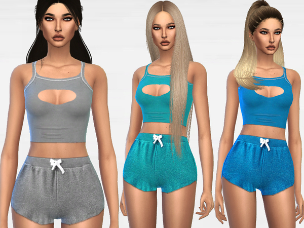 Attractive Pyjama by Puresim at TSR image 62 Sims 4 Updates