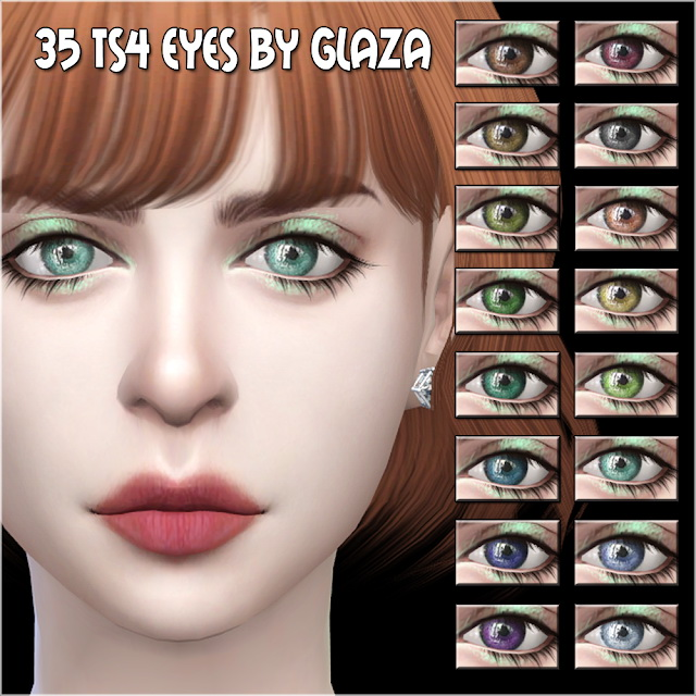 Eyes #35 at All by Glaza image 6210 Sims 4 Updates