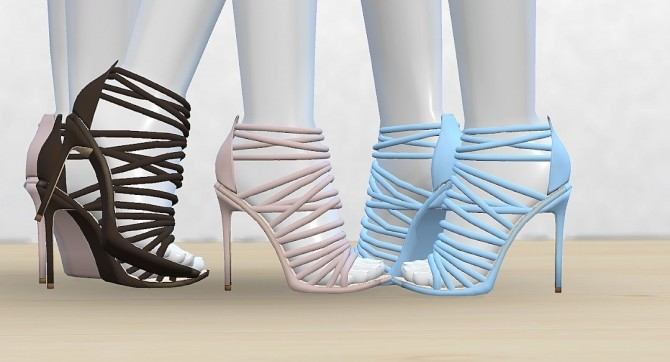 Alien Cage Sandals at MA$ims4 image 637 670x362 Sims 4 Updates