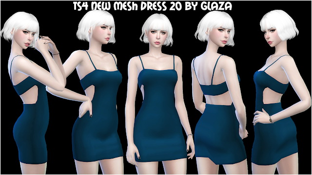 DRESS 20 at All by Glaza image 638 Sims 4 Updates